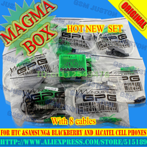 2017 new 100% original Magma Box for HTC &Samsung& BlackBerry and Alcatel cell phones with 8 cables,++Free hk post fast shipping2017 new 100% original Magma Box for HTC &Samsung& BlackBerry and Alcatel cell phones with 8 cables,++Free hk post fast shipping