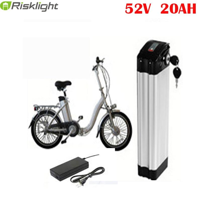 전기 자전거를위한 51.8V 1000W 전기 자전거 건전지 52V - 사이클링