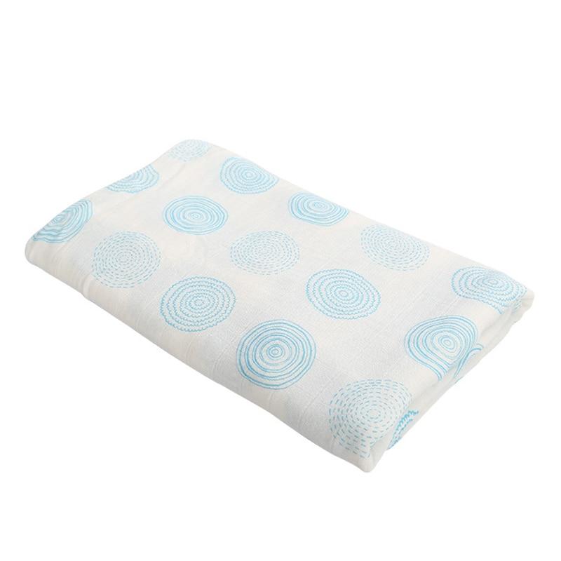 120*120cm Bamboo Fiber Baby Blanket Breathable Muslin Wrap Newborn Bamboo Baby Swaddle Towel Receiving Blanket