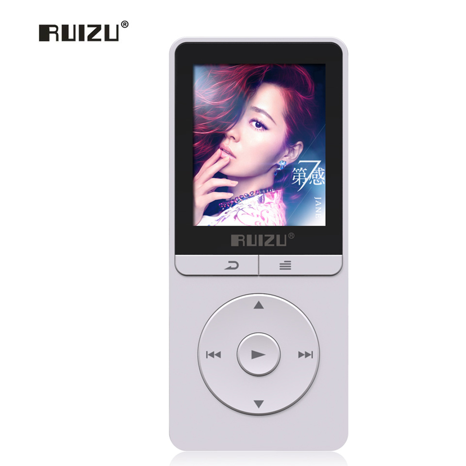 Original RUIZU X20 Sports MP3 Player 1.8 Inch Screen Clock MP3 Lossless Hifi 8GB FM,E-Book,Data Support TF Micro SD Stock New