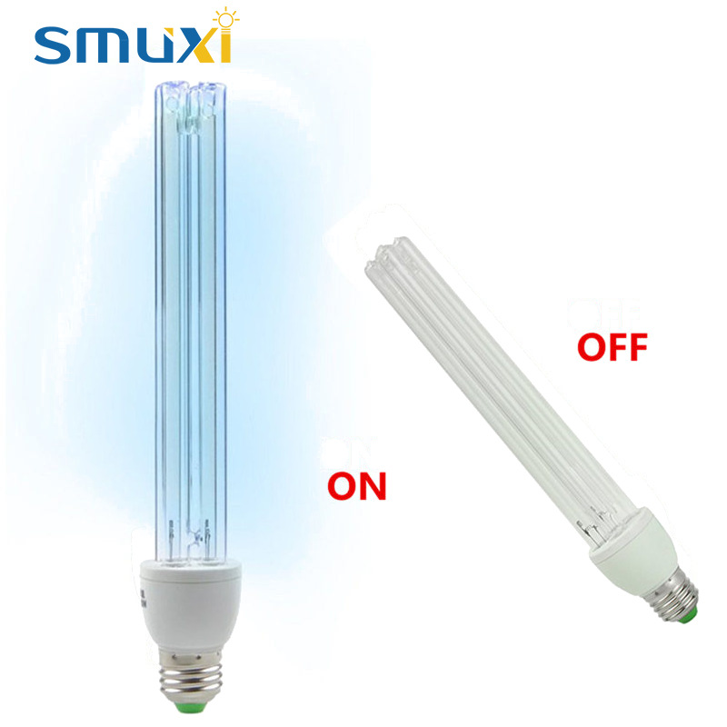 20W E27 UV Light Tube Bulb Ultraviolet Disinfection Lamp UVC Ozone ...
