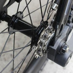 Image 5 - Silverockフリーホイール外部3速度ブロンプトン用3シックス折りたたみ自転車11t 14t 19t自転車チェーンホイールカセットクロームスプロケット