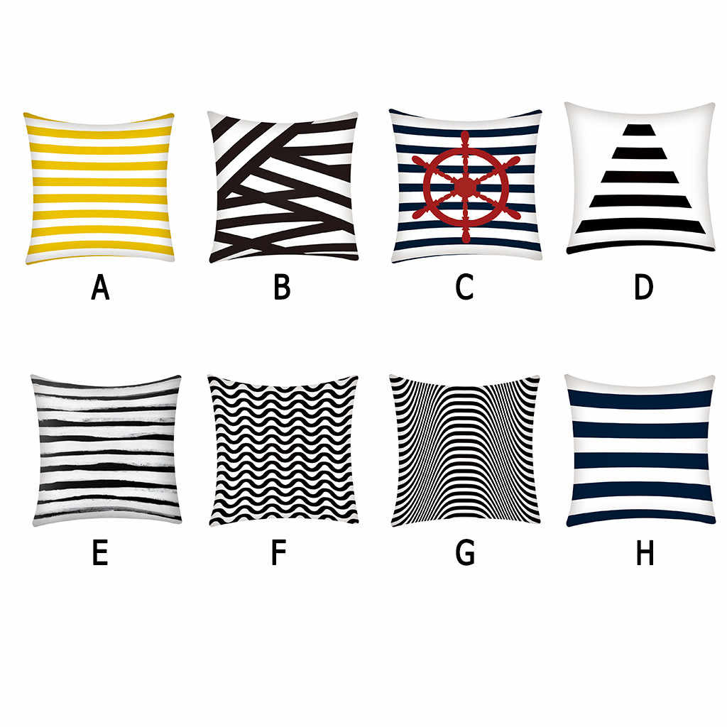 Pillow Case Polyester Fiber Sofa Car Cushion Cover Home Decoration Kussenhoes Pillow Cover Housse de Coussin Cojines Pillowcases
