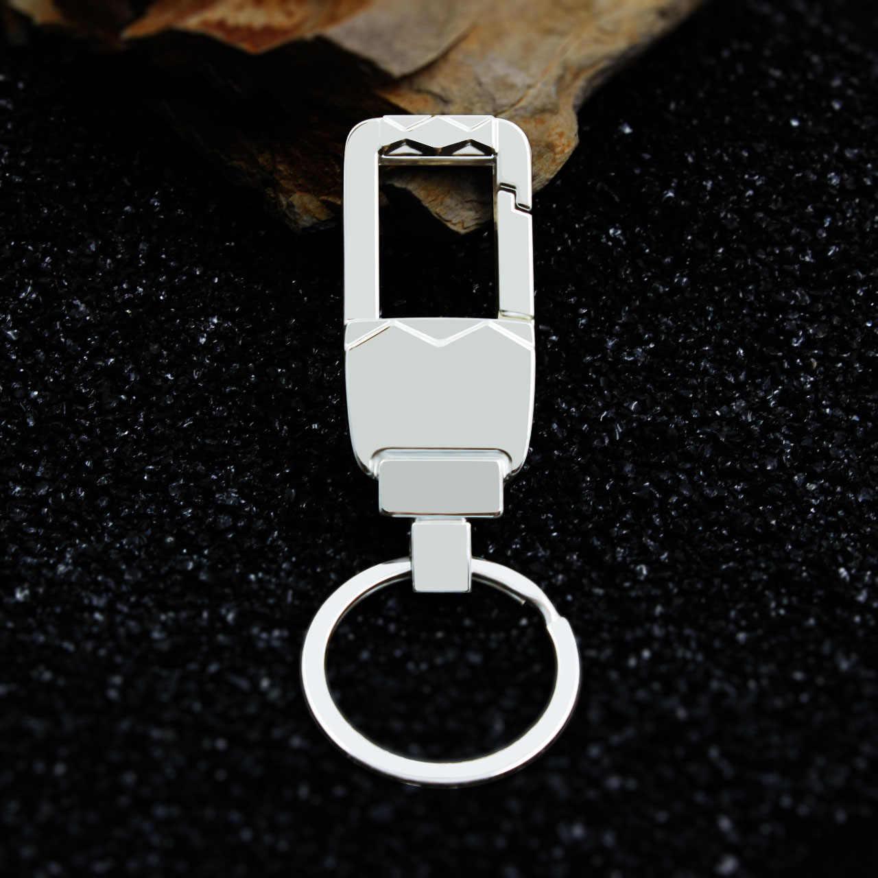 Hot Fashion Men Metal Keychain Car Key Ring Open Promotional Advertising Unlock Custom best Party Gift Jewelry K1523