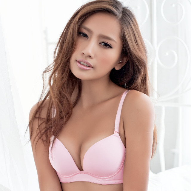 da9abb3c9c7 2012 gainreel song riel sexy young girl bra glossy seamless solid color  formal dress underwear