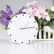 New Wall Clocks Creative 3D Full Dot Clock 24CM Acrylic Stereo Fashion Home Decoration Modern Design