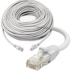 RJ45 Cat5e сетевой кабель LAN Ethernet Патч-провод короткий-длинный 15 м 20 м 30 м 50 м для 3.0mp 4.mp 1080p POE CCTV NVR система