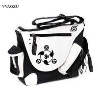 New Fashion Hot Sale Naruto Printing Vintage Women Men Messenger Bags Canvas Business Shoulder Bag Students