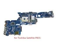 NOKOTION New K000135160 For Toshiba Satellite P850 P855 Laptop Motherboard QFKAA LA 8392P DDR3 HD4000 support I7 Main board