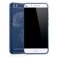 Original Mi5 Case Silicon Back Cover For Xiaomi Mi5 Mi 5 M5 Luxury Matte 3D Carved