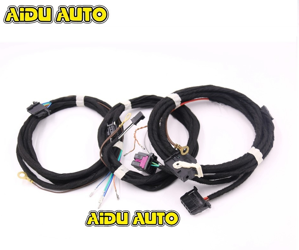 Power tailgate Tow Bar Electrics Kit Install harness Wire Cable For Audi A6 C7