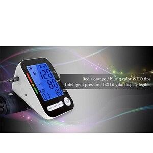 Image 4 - USB Automatic LCD HD Digital Monitor di Pressione Sanguigna del Braccio Inglese Sfigmomanometro per la Misurazione della Pressione Arteriosa Medico