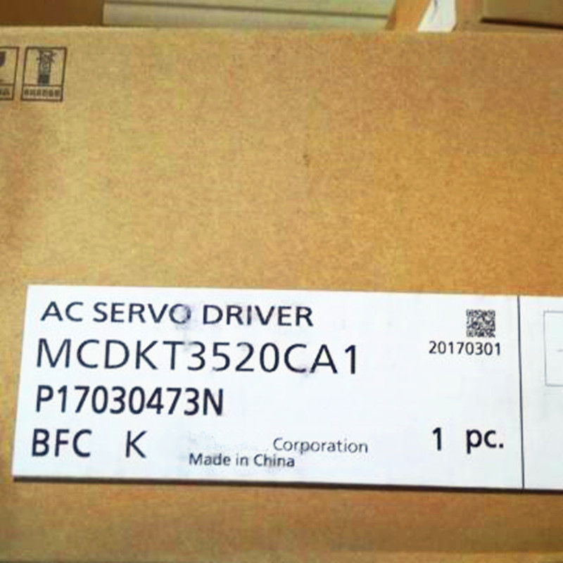 BRAND NEW ORIGINAL AC SERVO DRIVER MCDKT3520CA1