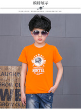 Kids kids t shirts sizzling gross sales boys t-shirt unisex child boys garments cotton tops ladies clothes printed age from Three-13T