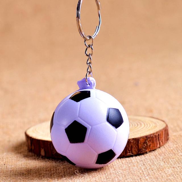 Soft Ball Keychain