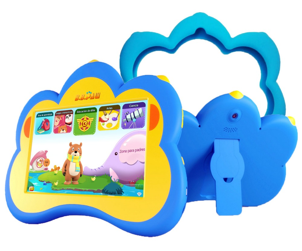 Kids Tablet, B.B.PAW 7 inch Whole Brain Education Tablet with 90+ Preloaded Learning and Training Apps-Spanish&English Edition los cerezos negros spanish edition