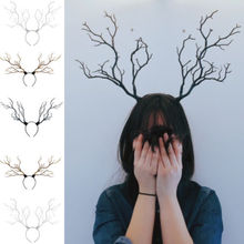 Cute Headband Gothic Halloween Branches Xmas Antler Costume Women Hairbands Props Fashion Design