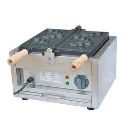 Commercial use Nonstick 110v 220v Electric 6pcs Korean Poop Bread Poo Shaped Waffle Maker Iron Machine Baker Mold