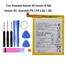 Original HB366481ECW For Huawei p9/p9 lite/honor 8/p10 lite/y6 II/p8 lite /p20 lite/p9lite battery Real 3000mAh