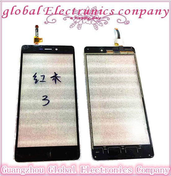 Original quality Hongmi 3 Touch Screen With Digitizer Front Glass Replacement For Xiaomi Redmi 3 Cell Phone Repair Parts