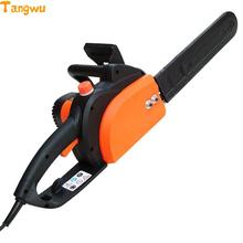 Free shipping  High-power household woodworking sawing felling saw 16 inch pump oil pure copper motor automatically Electric Saw