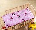 Caliente Del Bebé colchón de la cama, Acolchado extraíble lavable productos de jardín de infantes los niños del lecho del bebé tamaño 120*60 precio de fábrica Al Por Menor