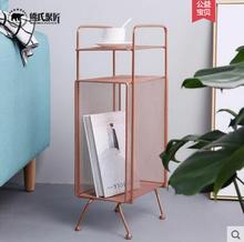 Modern simple iron art collection rack metal desk bookshelf. все цены