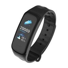 Купить с кэшбэком RAVI C1Plus Smart Watch Bracelet Heart Rate Monitor Blood Pressure Blood Oxygen Waterproof IP67 Smartwatch for Iphone Xiaomi