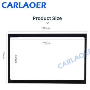 Image 3 - Car frame for Peugeot 307 2001 2008 audio conversion dashboard panel frame car radio size 178*102 mm 190*120 mm 2 din Fascias