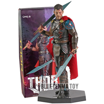 Crazy Toys Movie Action Figure One:6 Marvel Super Hero The Avengers Thor 1/6th Scale Collection PVC Model Toy
