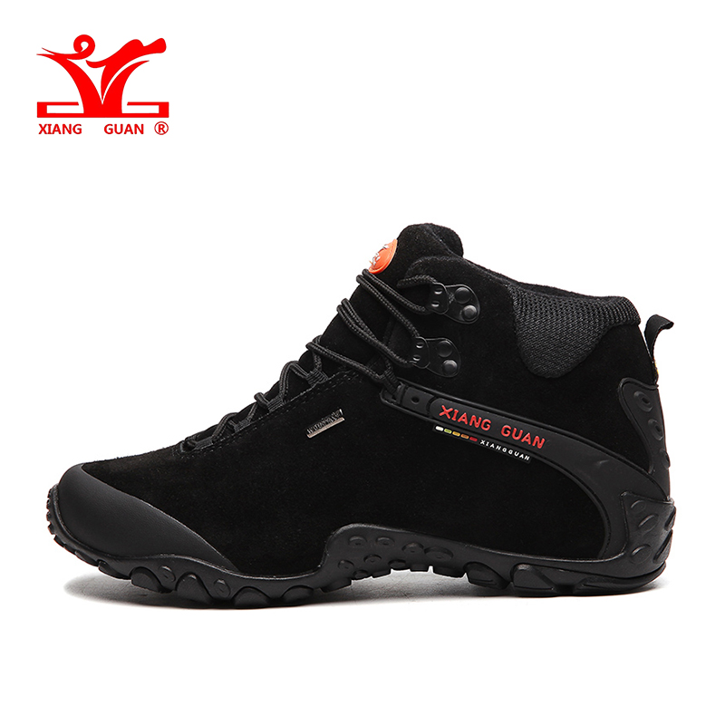XIANG GUAN Mens Sports Outdoor Hiking Upper Height Trekking Shoes Sneakers For Men Sport Wearable Climbing Mountain Shoes Man merrto mens summer sports outdoor trekking hiking sneakers shoes for men sport climbing mountain shoes man senderismo
