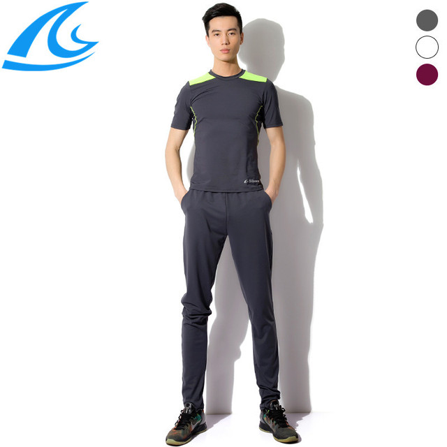 ede46cee178 Casual Running Sets Sprots Clothing Summer Men S Sports Suit Men Running  Suits Set Jogging Suits For Men Mens Tracksuit Set XXL