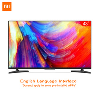 Xiaomi Smart 4A 43 inches 1920*1080 FHD Full HD Screen TV Set HDMI WIFI Ultra thin 2GB Ram 8GB Rom Game Play Display Dolby Sound