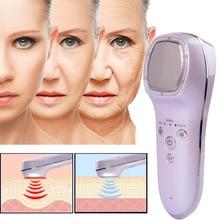 LED Beauty Machine Hot Cold Massage Facial Massage Face Lift Skin Care Vibrate A