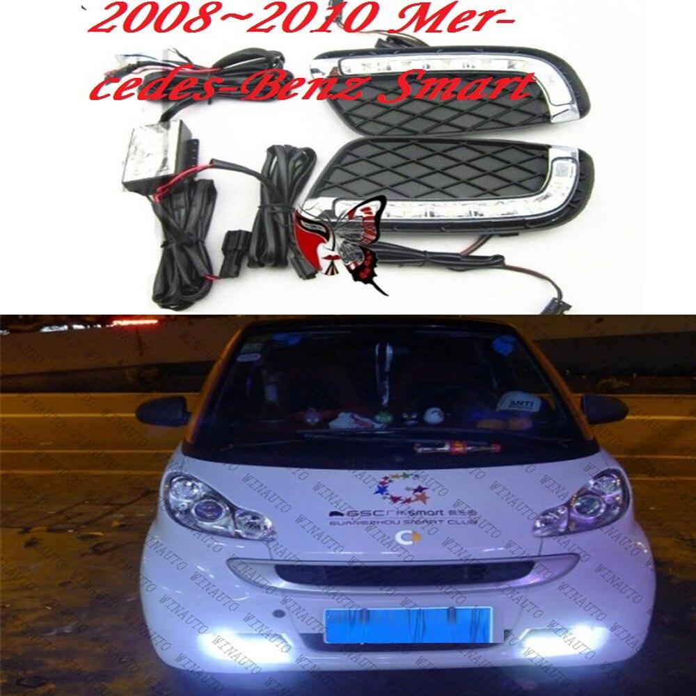 СИД,2008~2010 Смарт дневной свет,умный противотуманные фары,умные фары,190Е,200Т,280TE,А200,B180,В200,С200,умный задний фонарь