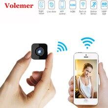 Volemer HDQ13 мини камера беспроводная Wifi 1080 P домашняя камера безопасности видео ИК ночного видения Обнаружение движения HD DV DVR микро камера