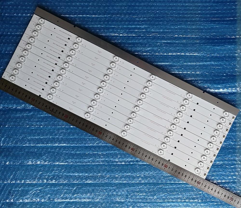 11 Pieces set 6LEDs 3V Compatible New LED Strip SVH550AB1 SVH550AA2 REV05 6LED For Hisense 55