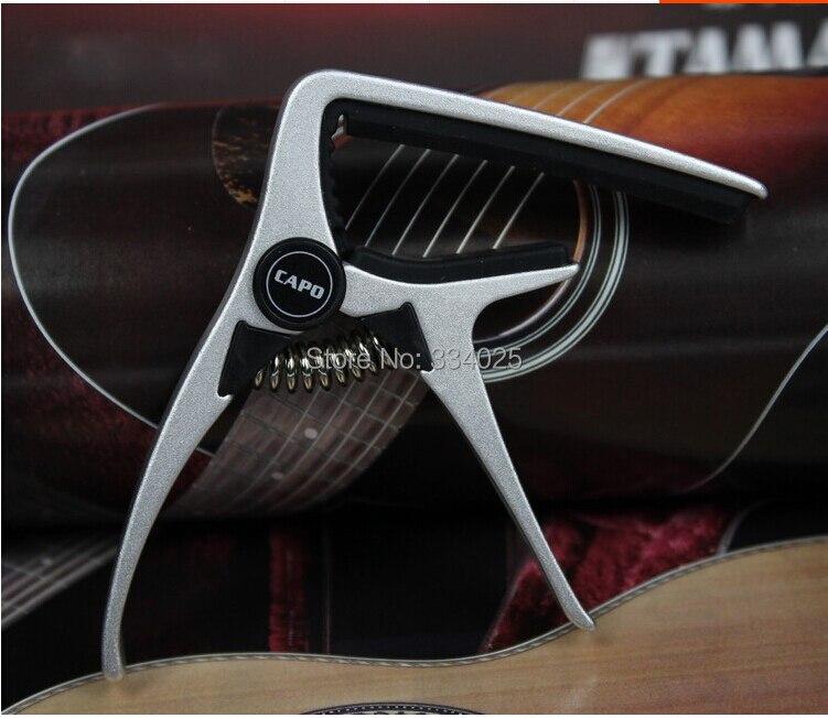 Aroma Guitar Capo For Acoustic Electric Guitar Aluminium Material Guitar Accessories Guitarlele Capo Capotraste