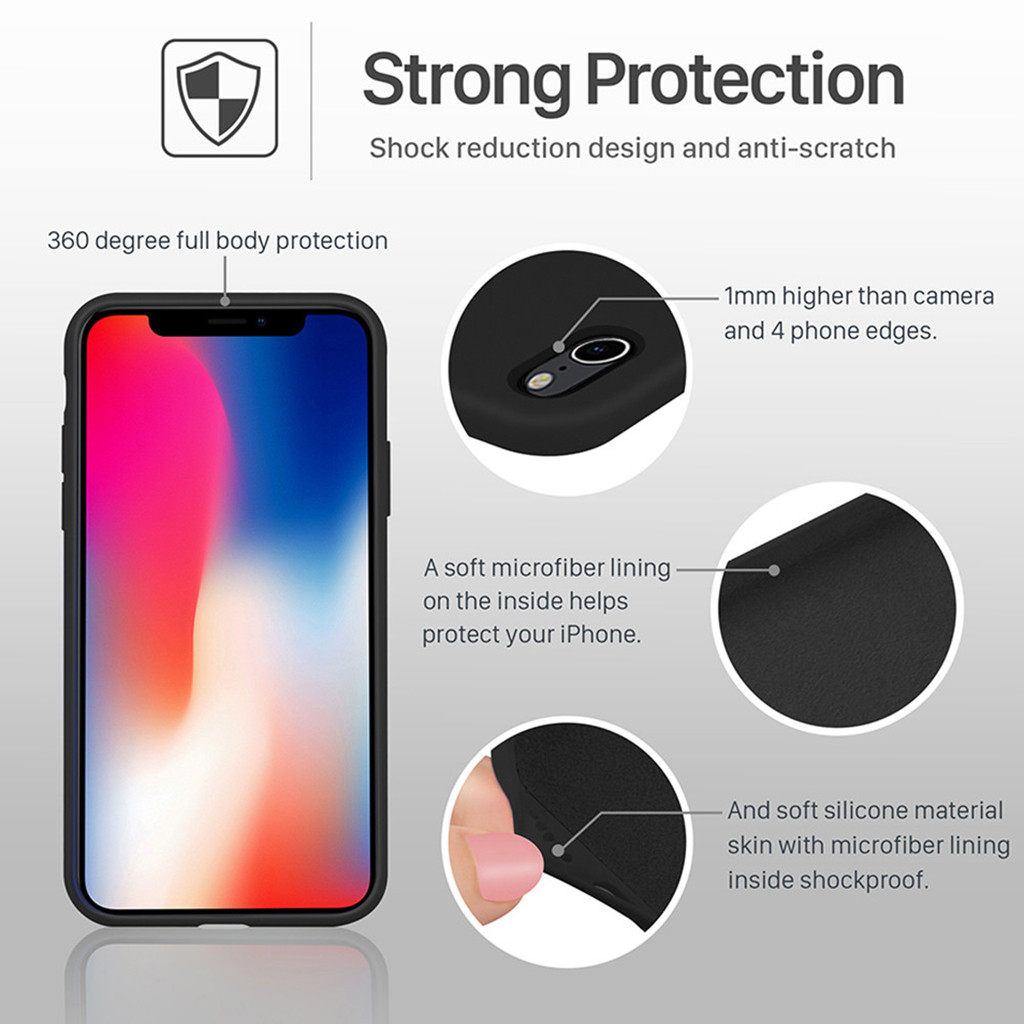 Image 3 - Leather Back Case Luxury Cover  For Apple IPhone XR 6.1inch  Slim & Smooth Phone Case Covers Dropship Nov.24-in Smart Accessories from Consumer Electronics