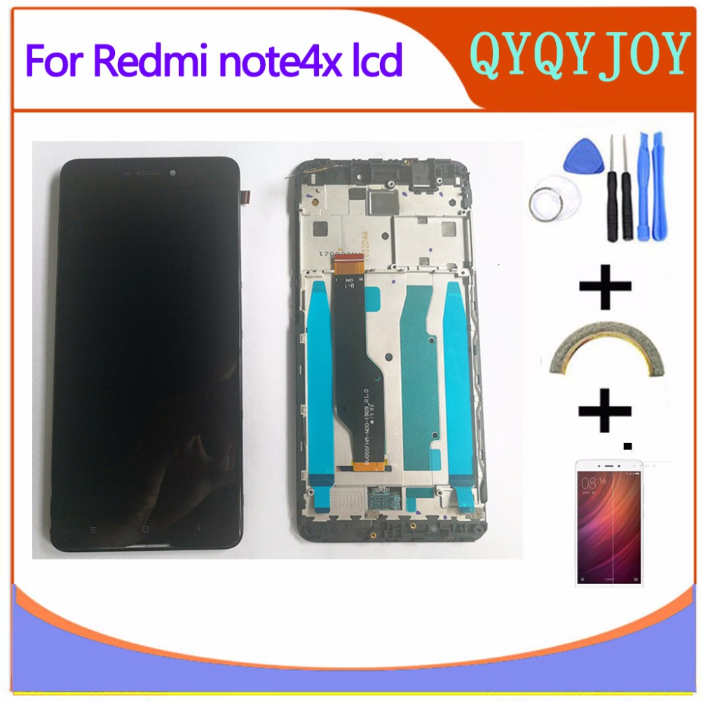 high quality LCD For Xiaomi Redmi Note 4x Display Screen Digitizer Touch Screen Prime Glass Panel 5.5 Inch FreeTools