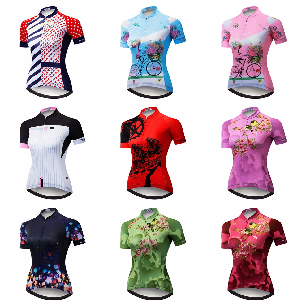 Cycling Jersey women Bike Jersey 2019 road MTB bicycle Clothes Outdoor Mountain team maillot Racing top Shirt Ropa Ciclismo red
