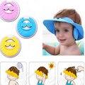 Nova Ajustável Bebê Crianças Shampoo Banho de Banho Shower Cap Hat Wash Escudo Cabelo Com a Orelha Atacado 2 Pçs/lote