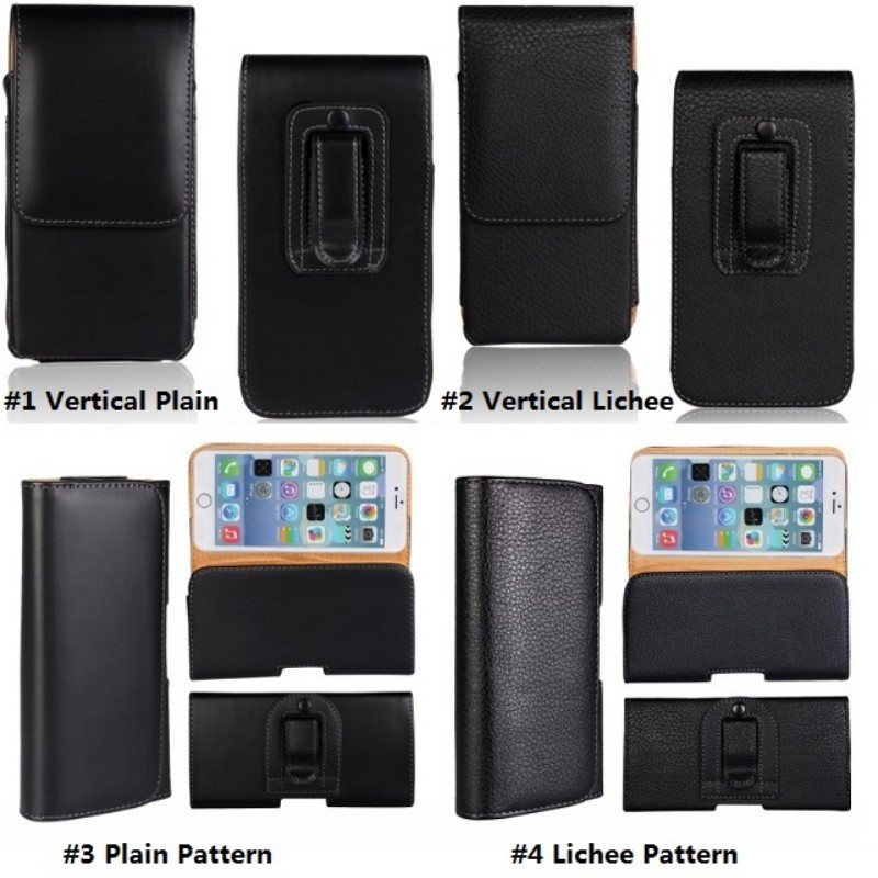 Mobile Phone Waist Bag For Xiaomi Mi A2 6X A2 Lite Mi A1 5X Universal Leather Men Belt Clip Pouch Holster Cover Case Coque Capa