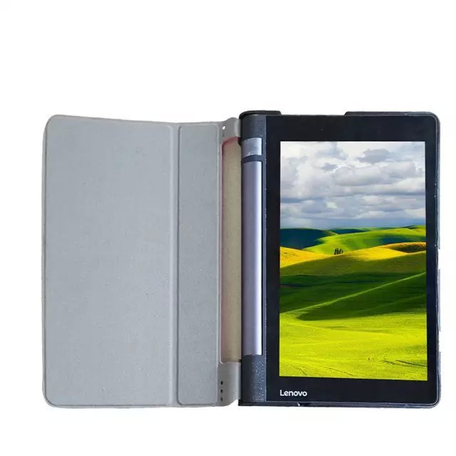 new concept 06b8a f879b For Lenovo Yoga Tablet 3 8 Flip Cover Ultra Slim Luxury Protectors Skin  hard back Shell Case For Lenovo 850F 100PCS/Lot-in Tablets & e-Books Case  from ...
