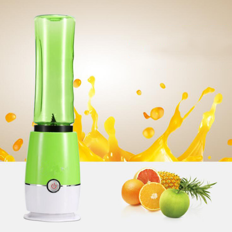 Portable Blender Mini Juicer Fruit Mixer Smoothie Maker Multifunction Extractor Blenders Household Travel Cup 2016 new design 500ml portable fruit juicer