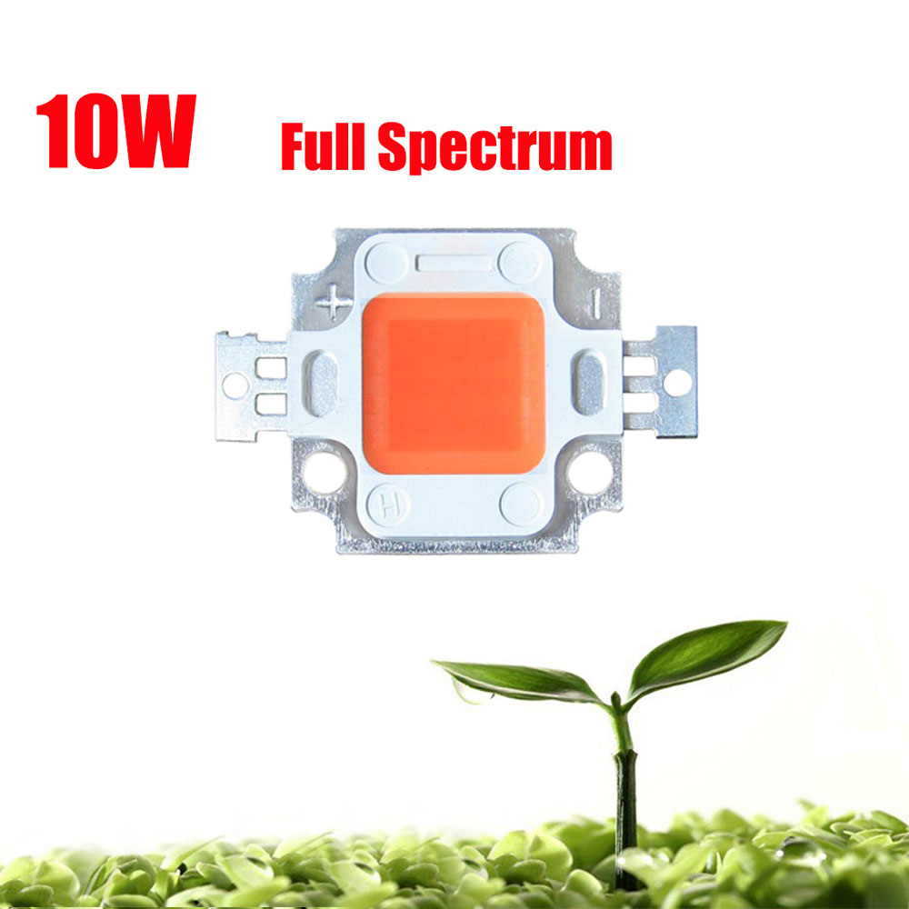 1PCS High Power 10W 45mil Full Spectrum 400~840nm SMD LED Grow Chip ...