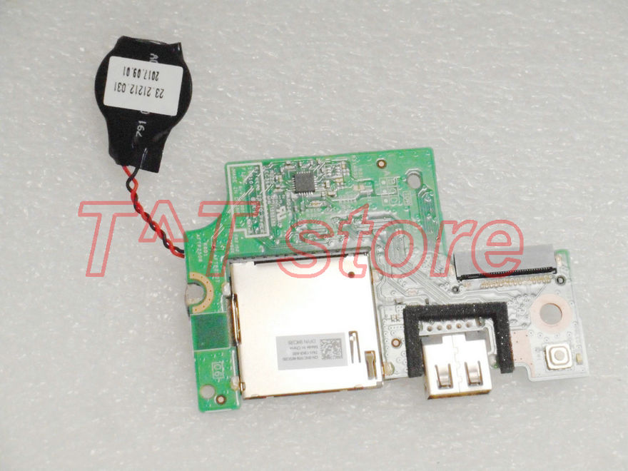 цены original for DELL INSPIRON 7373 power botton USB BOARD SD card reader HC1R9 0HC1R9 CN-0HC1R9 test good free shipping
