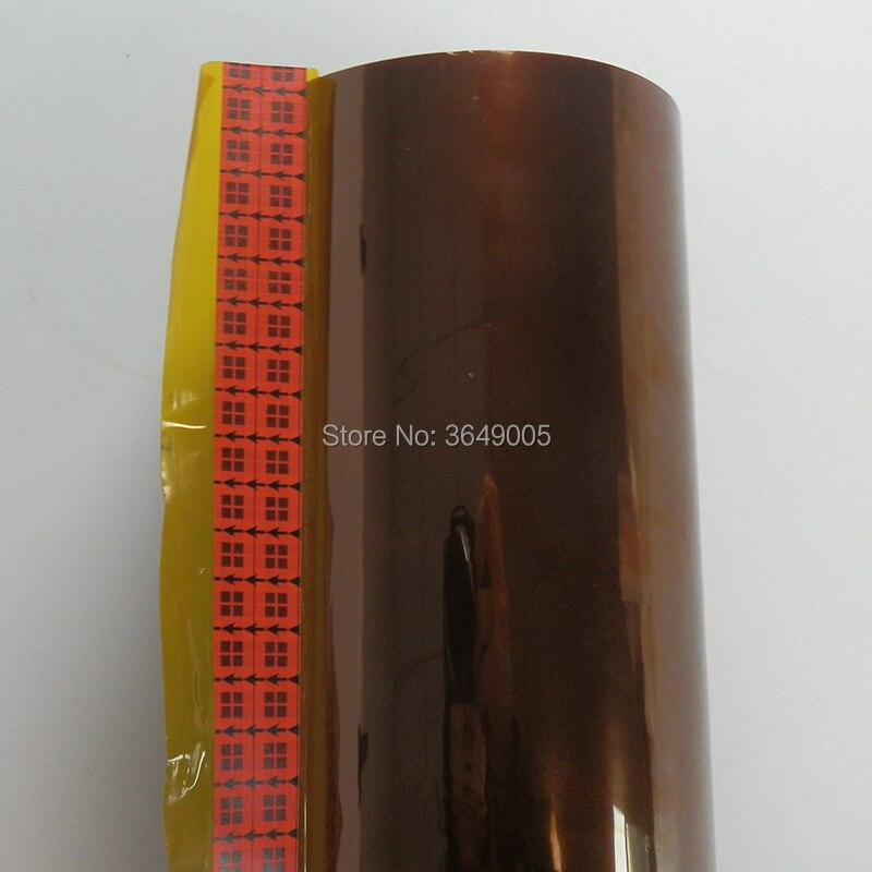 1/2X36 Jardas Um Rolo cortado 3 m Baixa Estática Poliimida Fita de Filme de 5419, ouro 3 m 5419 fitas de isolamento Elétrico