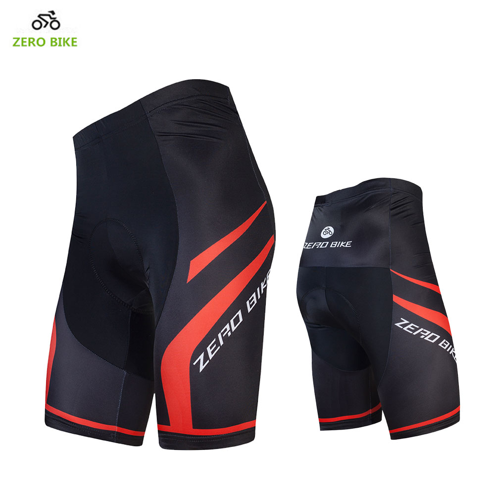 ZERO BIKE Hot Quick Dry Breathable Men's Cycling Shorts 4D GEL Padded Outdoor Sports MTB Bike Tight Shorts Bermuda ciclismo