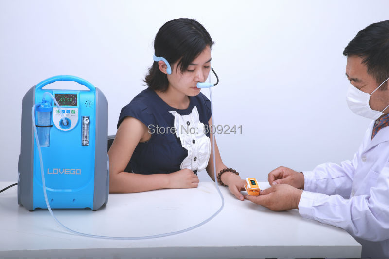 portable oxygen concentrator for COPD/ages/Pregnant women/smokers medical oxygen concentrator for respiratory diseases 110v 220v oxygen generator copd oxygen supplying machine